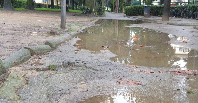 viale dei bambini alagamenti pioggia (13)