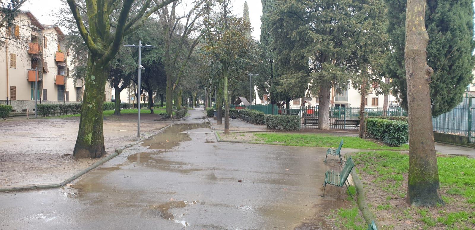 viale dei bambini alagamenti pioggia (3)