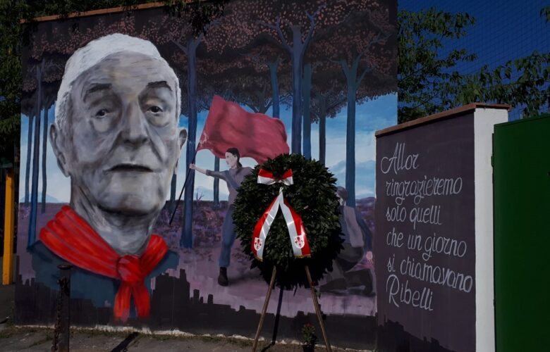 Festa della Liberazione 2020, una corona  è stata deposta alla memoria del partigiano Pillo
