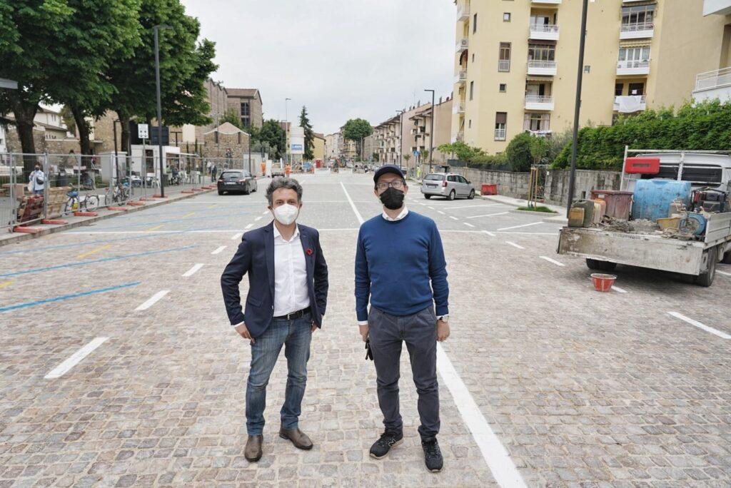 Il presidente Mirko Dormentoni e il sindaco Dario Nardella