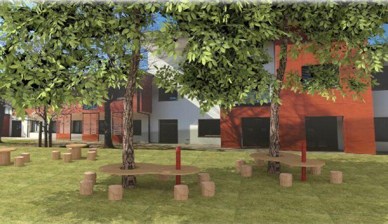 giardini attrezzati scuole lezioni all'aperto