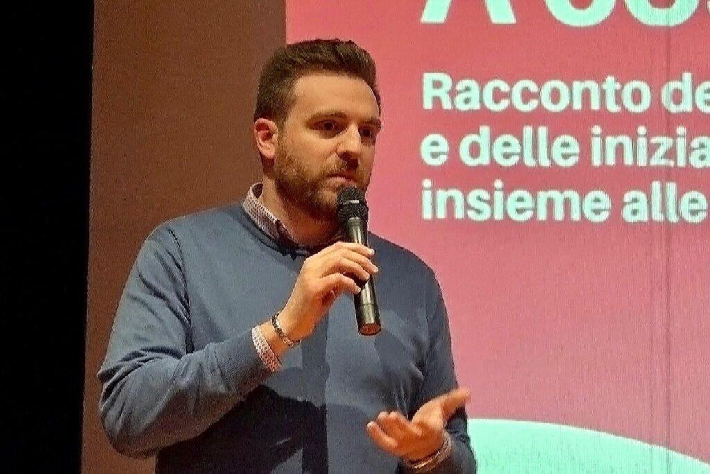 Marco Burgassi, il presidente della Commissione sport del Q4