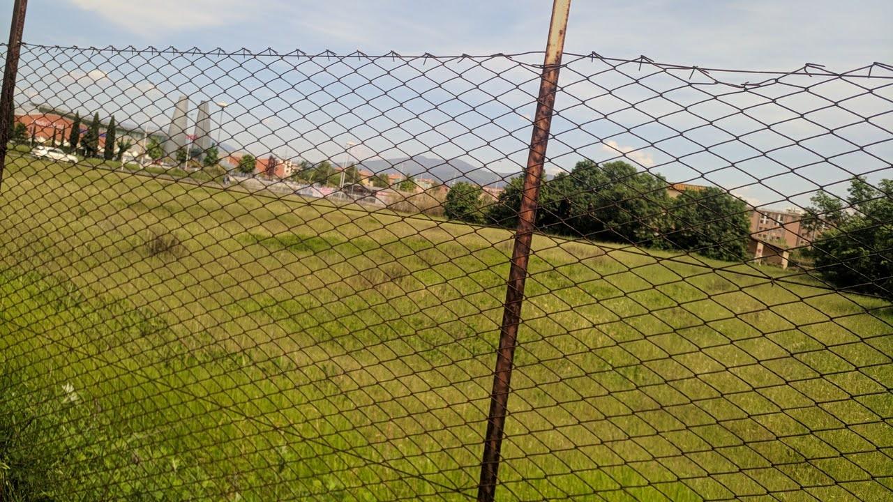 Il campo dove sorgerà il nuovo parcheggio scambiatore