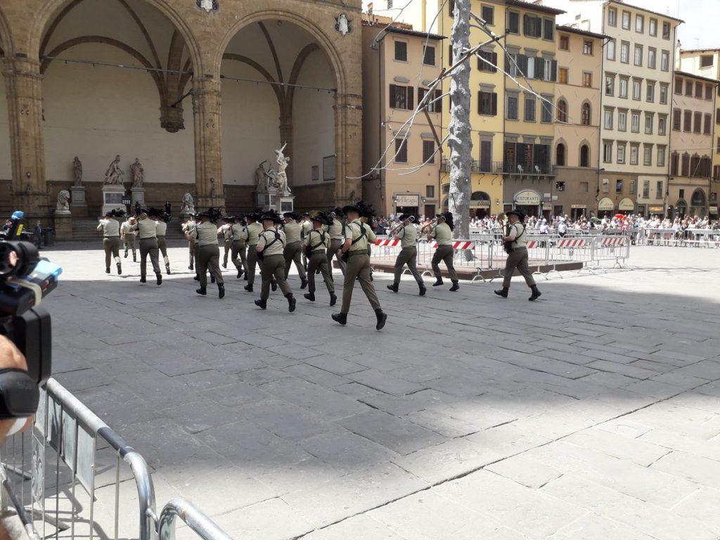 fanfara esercito piazza signoria (3)