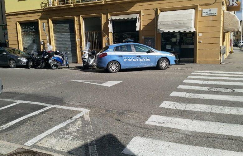 Polizia in via Francavilla, immagine di archivio IsolottoLegnaia.it