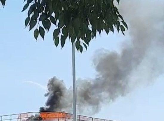 secondo incendio alla coop ponte a greve