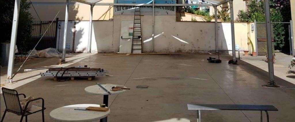 L'arena prima del restauro