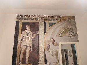 Elemento del ciclo pittorico del salone di Villa Carducci